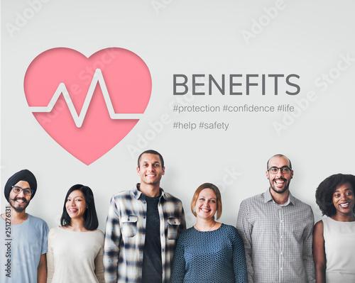 Fototapeta Health benefits obraz