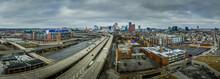 Aerial View Of Baltimore Skyli...