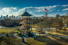 Patterson Park Pagoda During W...