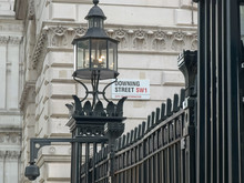 Street Sign Outside Downing St...
