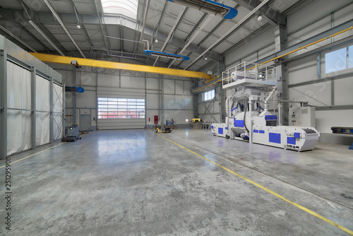 Interior of a modern factory Canvas-taulu