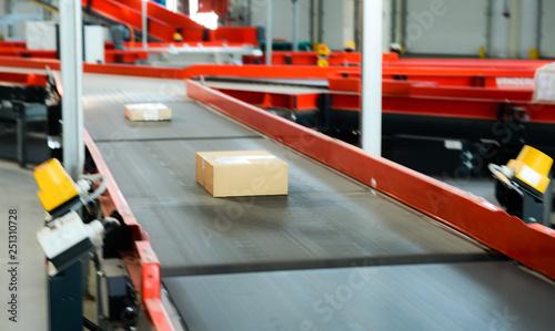 Fotografiet  conveyor in stock online store