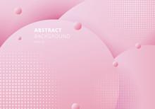 Abstract 3D Liquid Fluid Circl...
