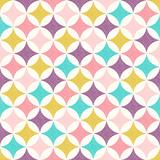 seamless geometric diamond dots pattern - Vector - 251314911