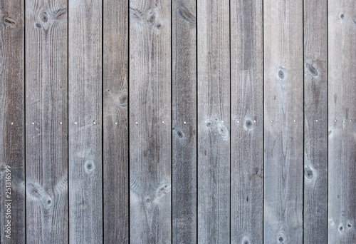 Fotografia  Wood grey plank weathered texture background