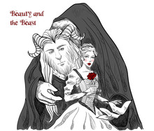 Beauty And The Beast. Characte...
