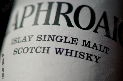 Single Malt Scotch Whisky from Islay Fototapet