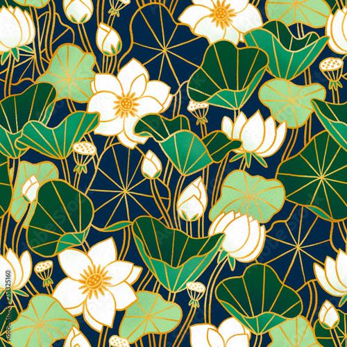 lily-stawowy-bezszwowy-wzor