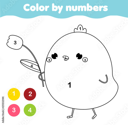 Fotografia  Coloring page for kids