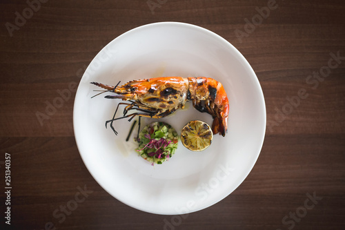 Fotografie, Obraz  cooked langoustine