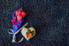 Three Tulip Handmade Paper On ...