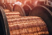 Production Of Copper Wire, Bro...