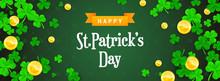 Happy St. Patrick's Day Banner...