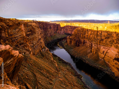 Poster Afrique du Sud Gorge of Glenn Canyon, Arizona, USA