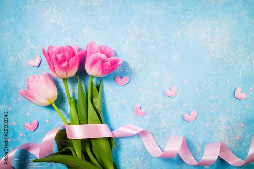 Photo  Spring holiday background