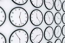 Set Of Clocks With Different W...