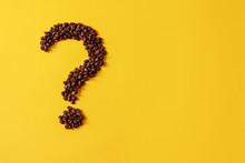 Coffee Grains Lying In The Sha...