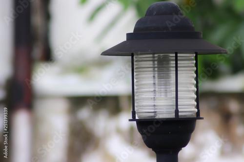 Photo  beautiful garden lights - Image