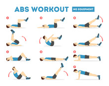 ABS Workout For Men. Exercise ...