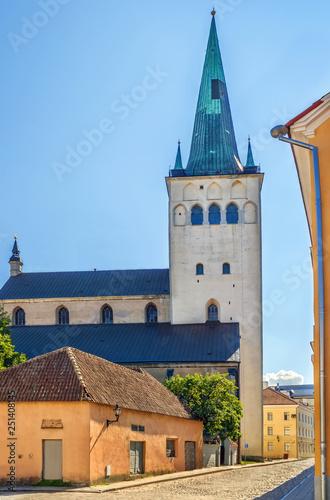 Photo  St. Olaf's Church, Tallinn, Estonia