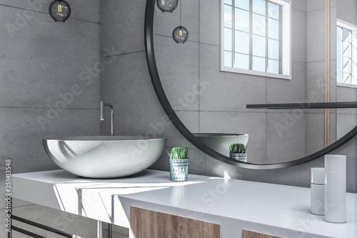 Fotomural  Modern bathroom interior