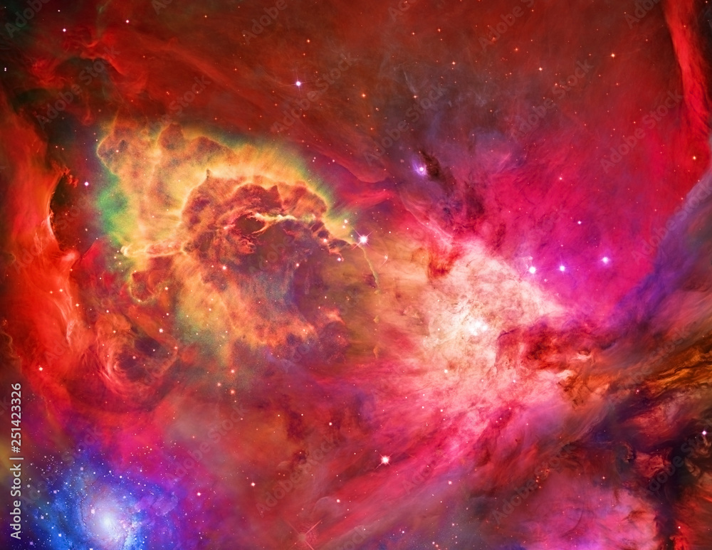 Fototapety, obrazy: Galactic Space