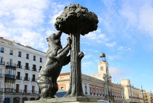 el oso y el madroño madrid Wallpaper Mural