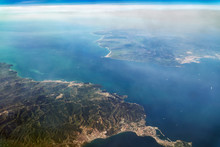 Aerial View Of The Strait Of G...