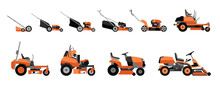 Various Types Of Lawn Mowers I...