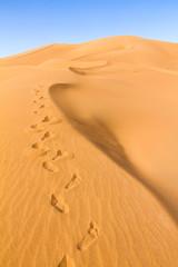 Sahara Desert, Dunes of Erg-Chigaga, M'Hamid El Ghizlane, Maroko