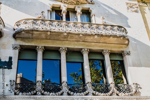 Fotografía  Détails d'architecture d'une maison de Barcelone
