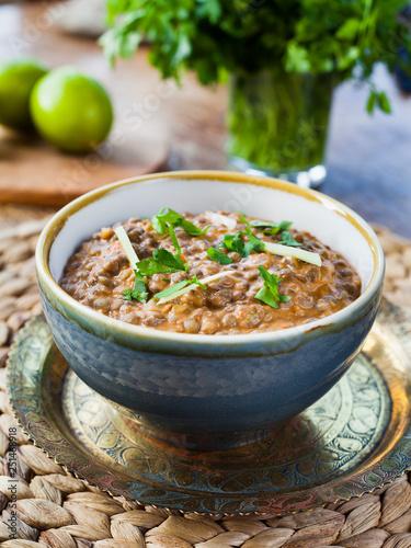 Fotografia, Obraz  Punjabi Makhani Dal Recipe -  Indian Cuisine