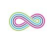 Infinity Design,Infinity logo Vector icon