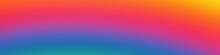 Abstract Sunset Glow Background, Vector Graphics