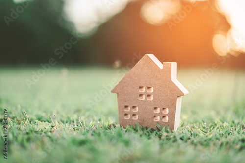 Photo  Copy space of home and life concept