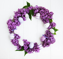 Easter Holiday Wreath
