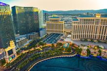 Casino, Hotel And Resort-Bellagio. Las Vegas.
