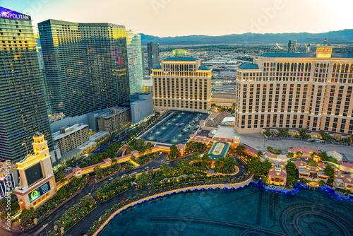 Fototapeta  Casino, hotel and resort-Bellagio. Las Vegas.