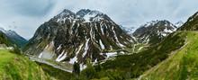 Summer Alps Mountain Landscape