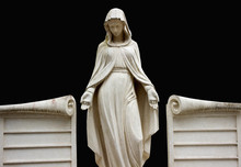 Statue Of The Virgin Mary Patron Saint