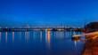 Brücke über den Rhein bei Krefeld
