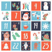 Advent Countdown Calendar With...