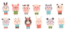 Vector Hand Drawn Characters: ...