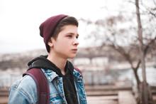 Stylish Teen Boy 16-17 Year Ol...