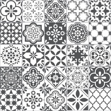Lisbon Geometric Azulejo Tile ...