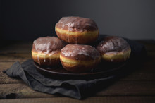 Polish Donuts With Icing, Fat ...