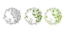 Graphic Vector Symbol Yin Yang...