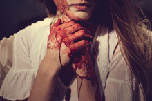 Angel With Blood On Her Hands