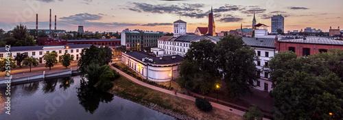 Fototapeta Łódź, Poland. View of the White Factory. obraz