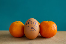 Egg And Tangerines